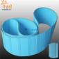 厂家定制开槽双面天蓝片基带纸管机皮带尼龙片基芯天然橡胶传动带